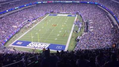 MetLife Stadium, section: 323, row: 25, seat: 29