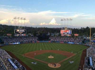 Dodger Stadium, section: 3RS, row: O, seat: 8