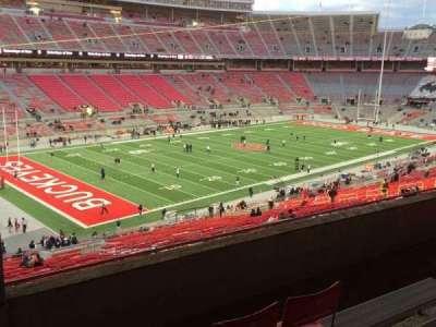 Ohio Stadium, section: 28B, row: 5, seat: 27