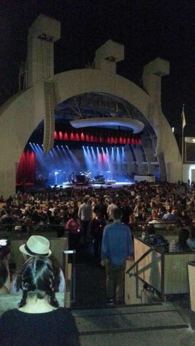 Hollywood Bowl, section: e, row: 7, seat: 1