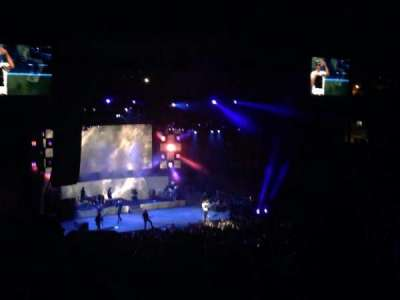 Irvine Meadows Amphitheatre, section: Loge 7, row: TT, seat: 740