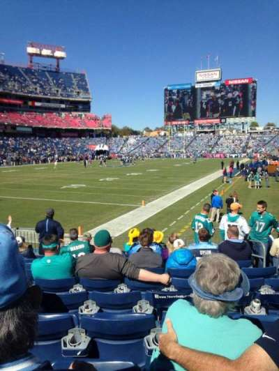Nissan Stadium, section: 120, row: L, seat: 5