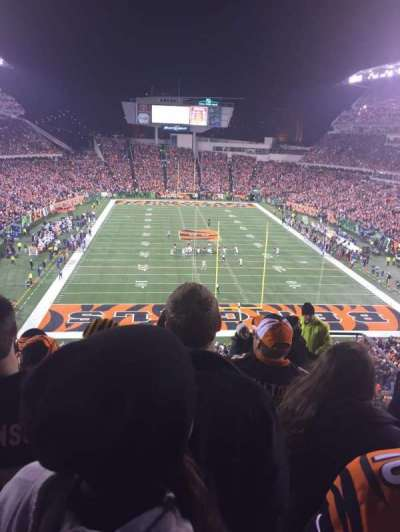 Paul Brown Stadium, section: 226