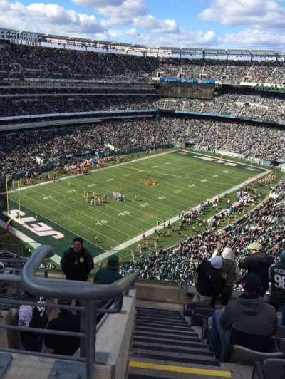 MetLife Stadium, section: 320, row: 12, seat: 25