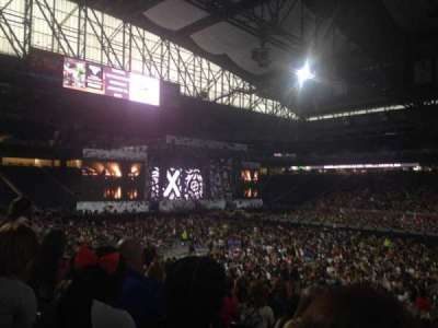 Ford Field, section: 108, row: 21, seat: 12
