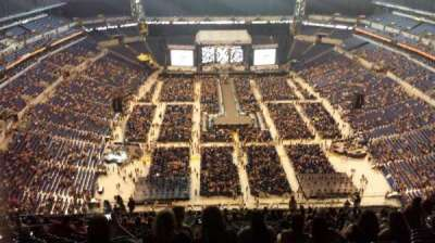 Lucas Oil Stadium, section: 627, row: 28, seat: 12