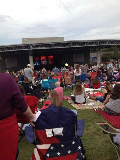 PNC Music Pavilion, section: lawn