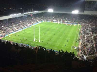 St James' Park, section: L7F, row: U, seat: 424