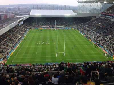 St James' Park, section: L7L, row: T, seat: 513