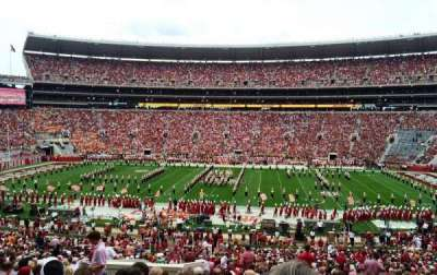 Bryant-Denny Stadium, section: F, row: 53