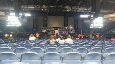 Payne Arena, section: Floor 2, row: AA, seat: 9
