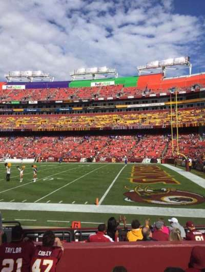 FedEx Field section 138