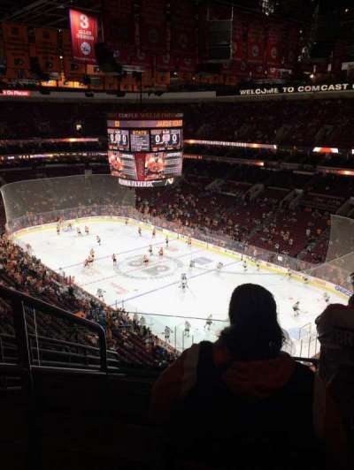 Wells Fargo Center, section: 205, row: 10, seat: 1
