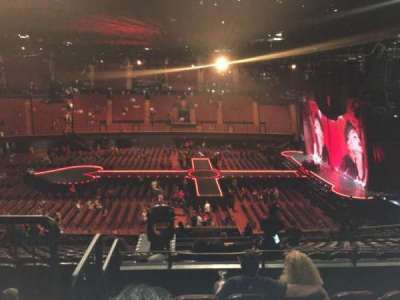 The Forum, section: 209, row: 5, seat: 5