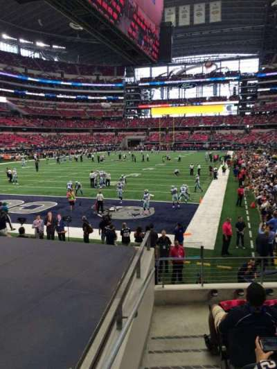 AT&T Stadium, section: 121, row: 10, seat: 5
