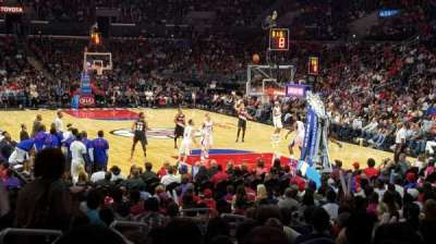 Staples Center, section: 116, row: 16, seat: 28