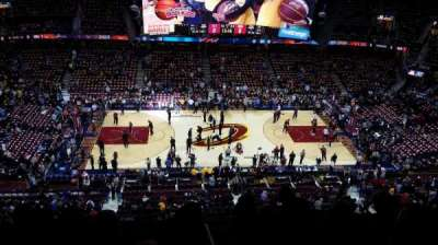 Quicken loans arena, section: 225, row: 6, seat: 6
