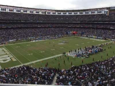 Qualcomm Stadium, section: C61, row: 1, seat: 10