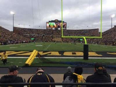 Kinnick Stadium, section: 135, row: 1, seat: 30