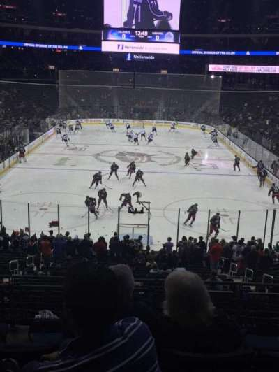 Nationwide Arena, section: 120, row: GG, seat: 8