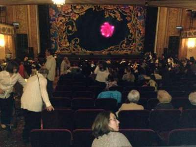 Palace Theatre (Stamford), section: Orchestra, row: V, seat: 102