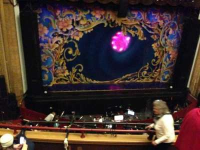 Palace Theatre (Stamford), section: Mezzanine, row: D, seat: 105