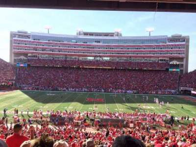 Memorial Stadium, section: 6, row: 39, seat: 4