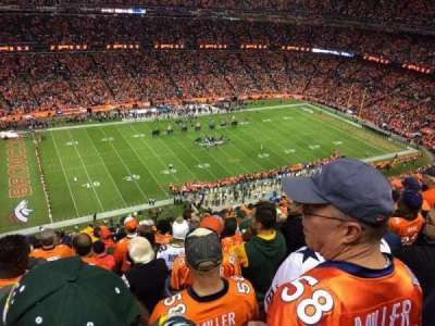 Sports Authority Field at Mile High, section: 538, row: 20, seat: 14