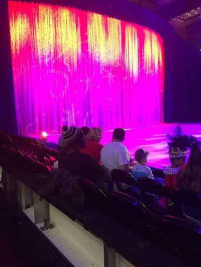 Royal Farms Arena, section: AA, row: 1, seat: 2