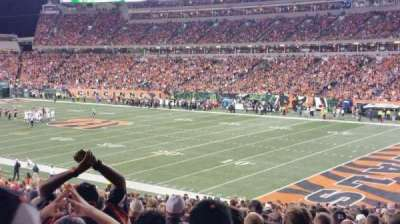 Paul Brown Stadium section 132