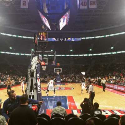 The Palace of Auburn Hills, section: 120B, row: AAA, seat: 6