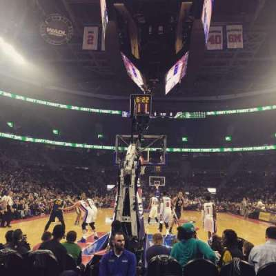 The Palace of Auburn Hills, section: 120B, row: AAA, seat: 8