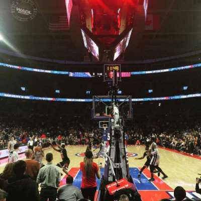 The Palace of Auburn Hills, section: 107B, row: AAA, seat: 12