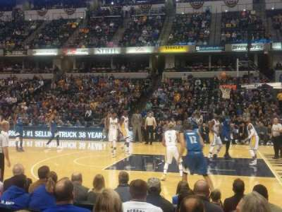 Bankers Life Fieldhouse, section: 15, row: 9, seat: 8