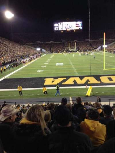 Kinnick Stadium, section: 136, row: 18, seat: 8