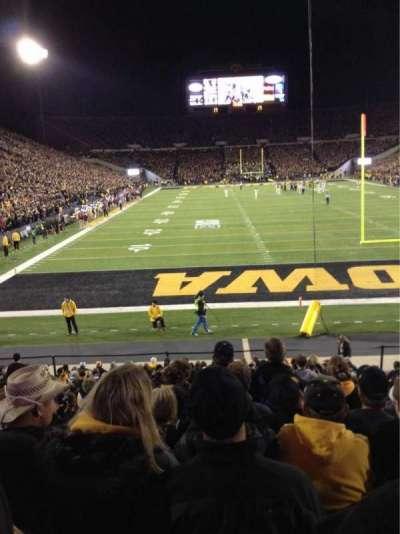 Kinnick Stadium, section: 136, row: 18, seat: 8