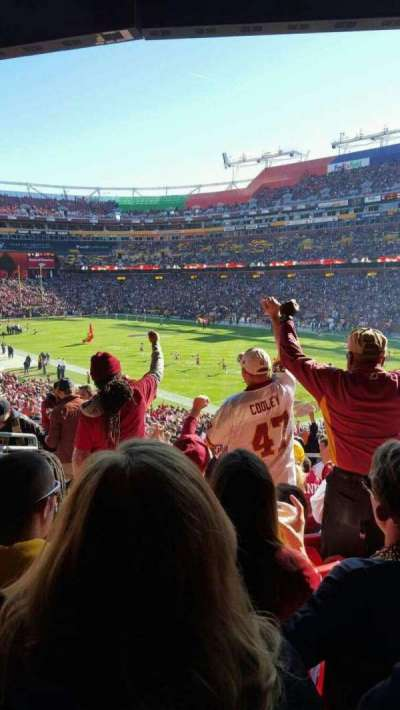 FedEx Field section 215
