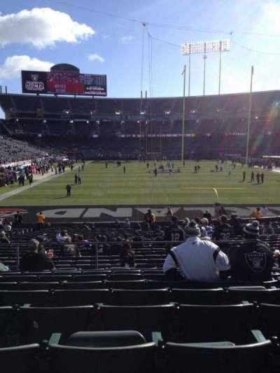 Oakland Alameda Coliseum, section: 129, row: 29, seat: 8