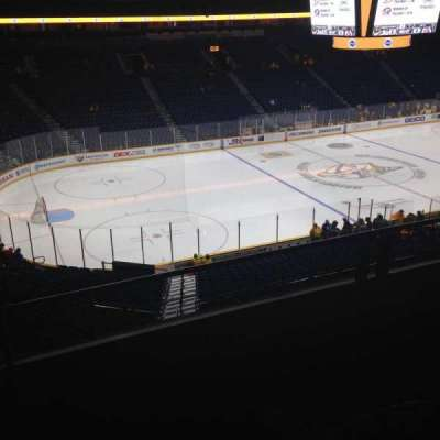 Bridgestone Arena, section: 213, row: E, seat: 16