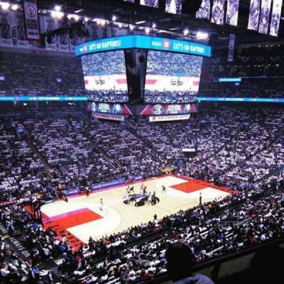 Air Canada Centre, section: 311, row: 3, seat: 18,19
