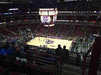 United Center section 316