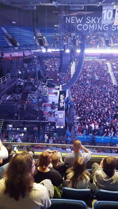 Mohegan Sun Arena, section: 119, row: E, seat: 3