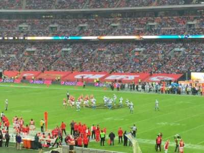 Wembley Stadium section 141