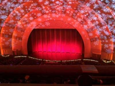 Radio City Music Hall, section: 3rd Mezzanine 3, row: A, seat: 307