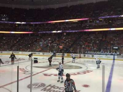 Honda Center, section: 221, row: E, seat: 9