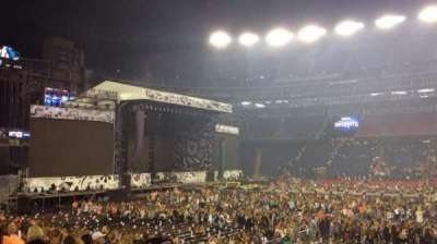 Gillette Stadium, section: 110, row: 14, seat: 6-7