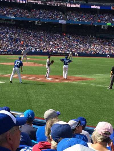 Rogers Centre, section: 114L, row: 7, seat: 8