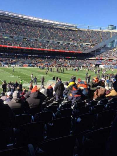 Soldier Field, section: 112, row: 14, seat: 6