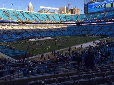 Bank of America Stadium, section: 350, row: 11, seat: 12
