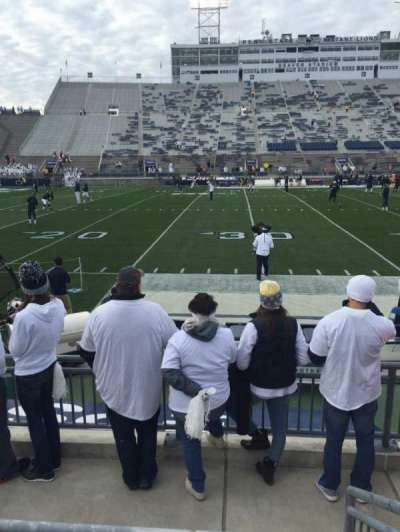 Beaver Stadium, section: Ed, row: F, seat: 16